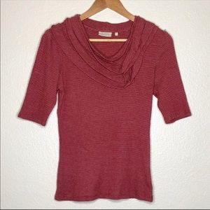 Anthropologie Deletta Knit Top Size Medium